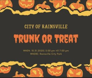 Trunk or Treat @ Rainsville City Park