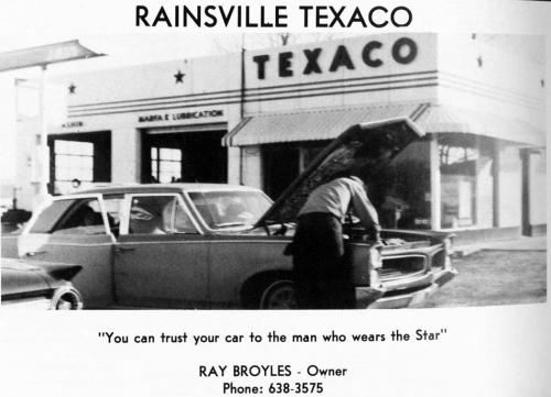 An old Rainsville Texaco ad