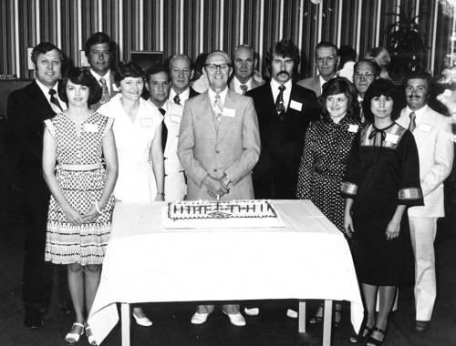 Rainsville Bank celebrates a milestone - 1970s