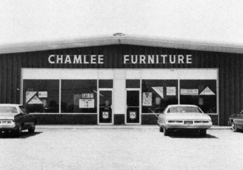 Chamblee Furniture in mid-1970s