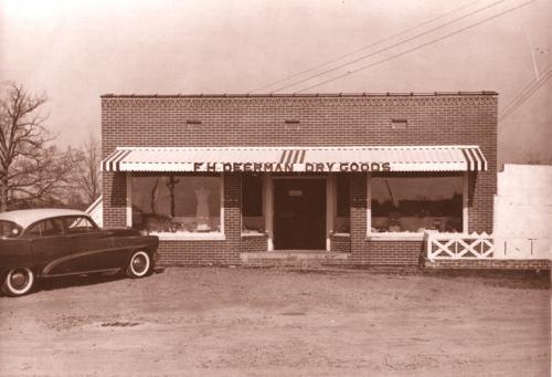 Deerman's Dry Goods store - 1950s