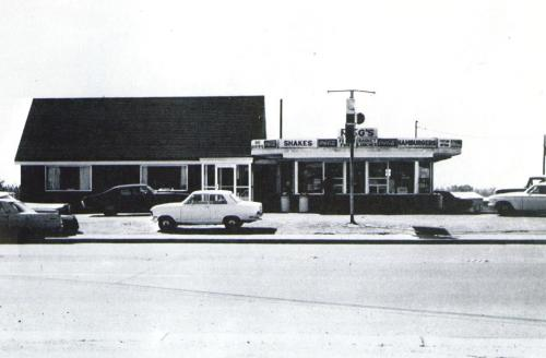 King's Restaurant in the '70s