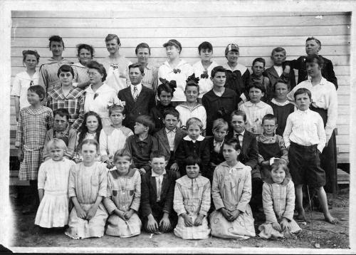 Student picture from Hall's Singing School