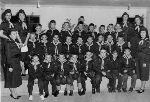 Cub Scout troop - '60s