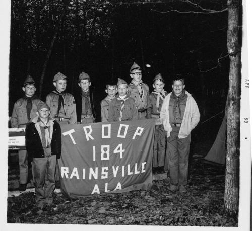 Boy Scouts camping trip of 1969
