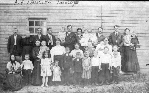 A. F. Dawson family in 1906