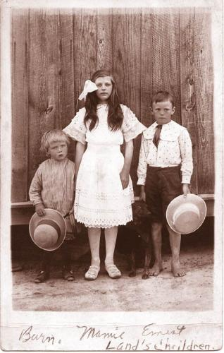 Burn, Mamie and Ernest Land - 1910s
