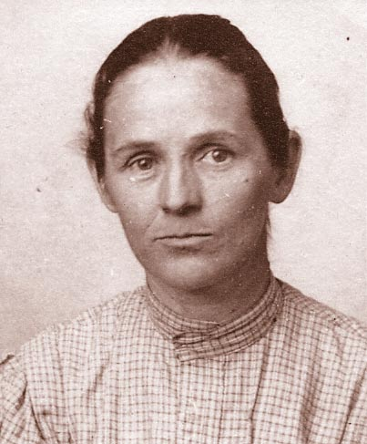 Cindy Parker in the 1890s