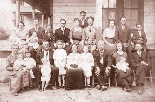 The Parker family - early '20s