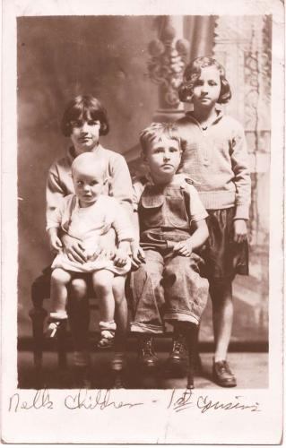 Nell's children - Joe and Cindy Parker's grandchildren