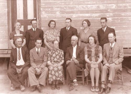 Parker family in 1939