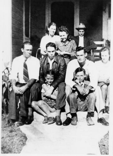 Garrett family in 1932