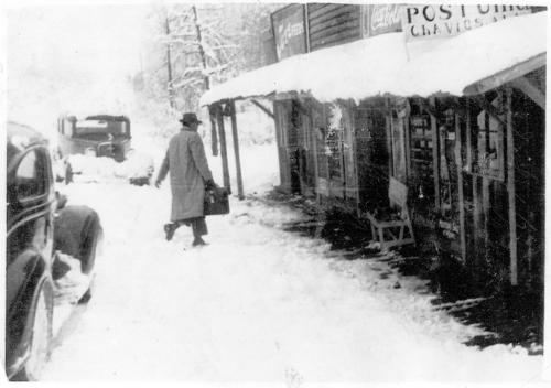 A 1939 Chavies snow scene