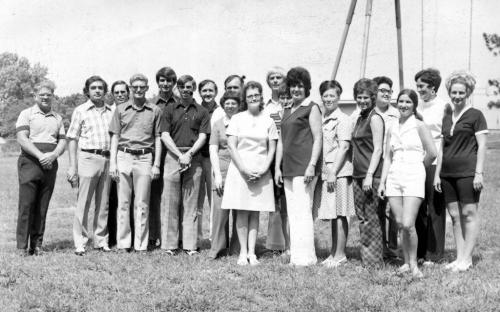 PHS class of '59 15-year reunion in '74