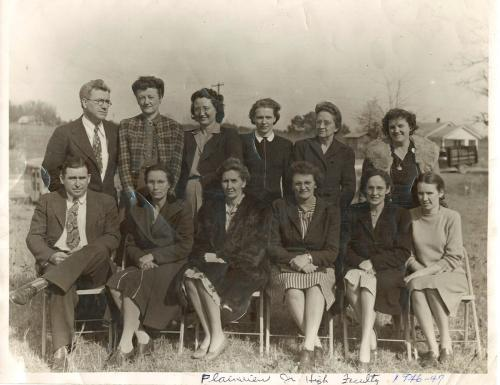 1947 Plainview School faculty