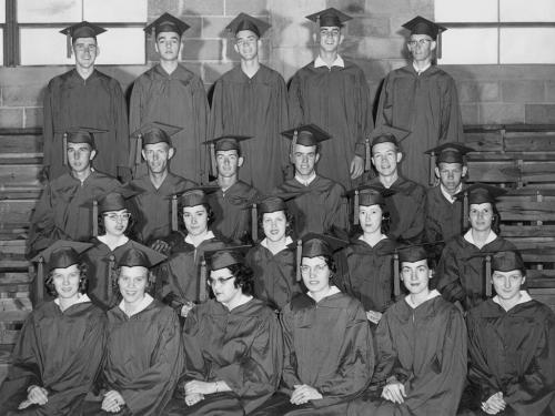 The Class of '59 was Plainview High School's first senior class