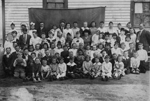 Chavies School - 1916-17