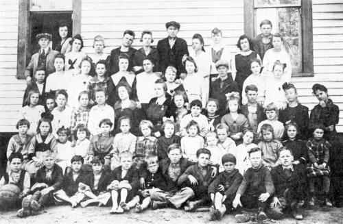 Chavies School - 1918