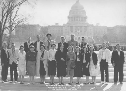Class of '59 at the United States Capitol