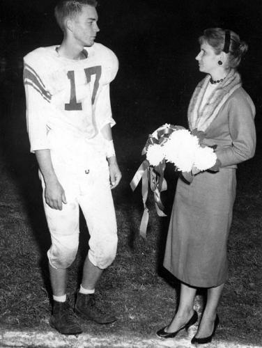 Class of '59 homecoming queen