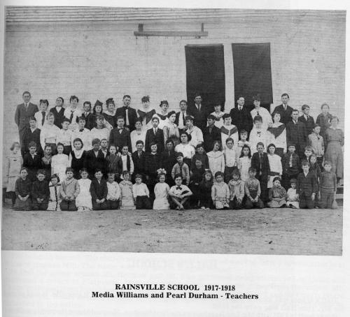 Picture day at Rainsville School - 1917