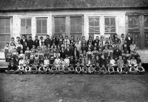 Picture day at Rainsville School - 1925